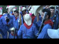 Bacamarteiros de Peladas recebem Leonardo no São Pedro