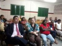 Bruno Lambreta participa de reunião em combate à violência