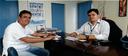 Bruno Lambreta se reúne com gerente da Compesa