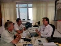 Bruno Lambreta se reúne com Paulo Cassundé para discutir iluminação da BR 104