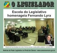 """Câmara lança mais uma edição de """"O Legislador"""""""