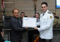 Câmara Municipal concede honrarias ao Major Autair Freitas