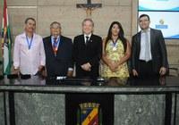 Cidadãos Caruaruenses são homenageados em sessão solene na Câmara