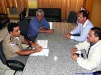 Comandante do 4º BPM na reunião pública da quinta-feira (22)