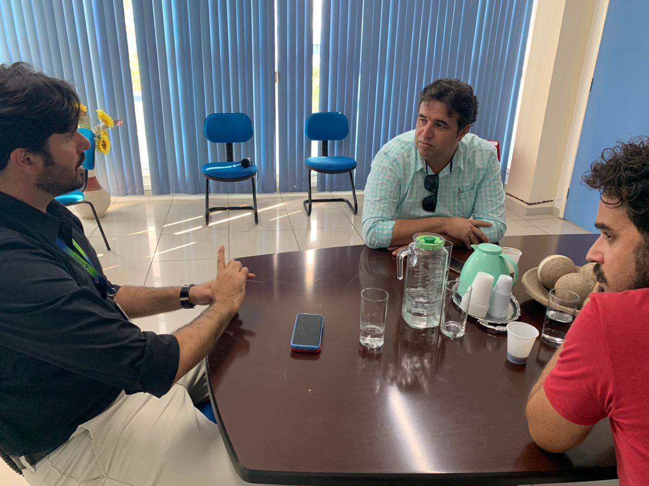 Comissão da Câmara de Caruaru se reúne com Compesa para garantir abastecimento diante do coronavírus