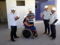 Comissão de vereadores visita obras do Hospital da Mulher