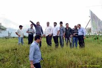 Comissão de vereadores vistoria áreas para a Sulanca