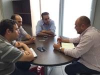 Comissão Especial de Segurança da Câmara de Caruaru se reúne com Secretário de Ordem Pública