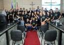 Comunidade católica Manain é homenageada pela Câmara