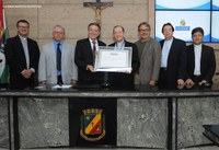 Diocese de Caruaru e Dom Dino Marchió recebem homenagem na Câmara Municipal