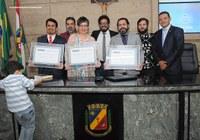 Docentes da UFPE são homenageados pela Câmara de Caruaru