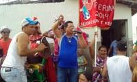 Edjailson participa de bloco carnavalesco no Riachão