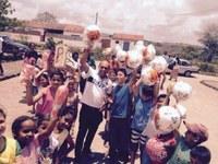 Edmilson do Salgado promove festa para as crianças da cidade e da zona rural