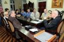 Em audiência com arcebispo, vereador pede atenção para o médio produtor rural