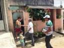 Gilberto de Dora faz blitz no bairro e vila Kennedy