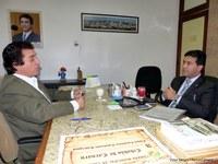 Gleydson Lima visita Poder Legislativo