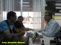 Jadiel Nascimento busca apoio para evento religioso