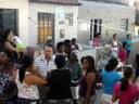 Jadiel Nascimento visita comunidade carente no Bairro Indianópolis