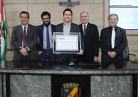 Remir Freire é homenageado com título de cidadania na Câmara Municipal