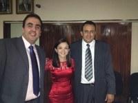 Marcelo Gomes homenageia Elba Ravane e Alex Monteiro com Título de Cidadão de Caruaru