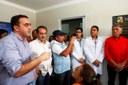 Marcelo Gomes prestigia inauguração da unidade de saúde do Cipó
