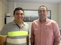 Marcelo Gomes realiza reunião com secretário de Infraestutura