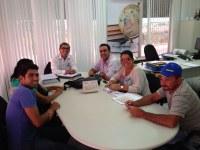 Marcelo Gomes visita novo secretário de Educação de Caruaru