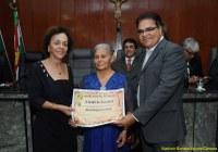 Maria do Bolo é cidadã de Caruaru