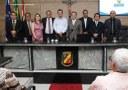 Morgana Teixeira ganha Medalha de Honra ao Mérito na primeira Sessão Solene