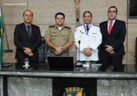 Parlamentar homenageia Tenente Coronel da Polícia Militar