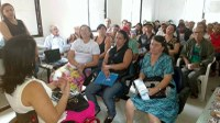 Rosimery faz palestra sobre deficiência no HRA