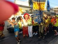 Rozael promove prévia com desfile de agremiações