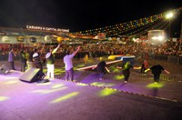 Sucesso na noite gospel do Pátio do Forró