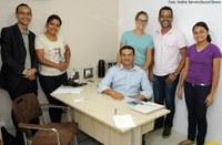Vereador Carlos Santos recebe pós-graduandos do Senac