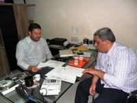 Vereador Neto se reúne com o presidente da Accape