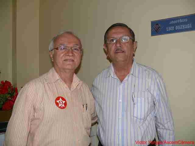 Vereador Pastor Jadiel participa de evento do deputado Fernando Ferro