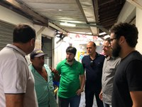 Vereadores da oposição fazem visita a Feira de Caruaru