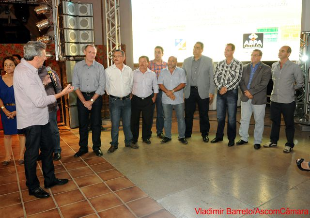Vereadores participam de lançamento dos Festejos Juninos