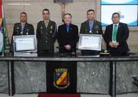 Militares são homenageados na Câmara Municipal de Caruaru